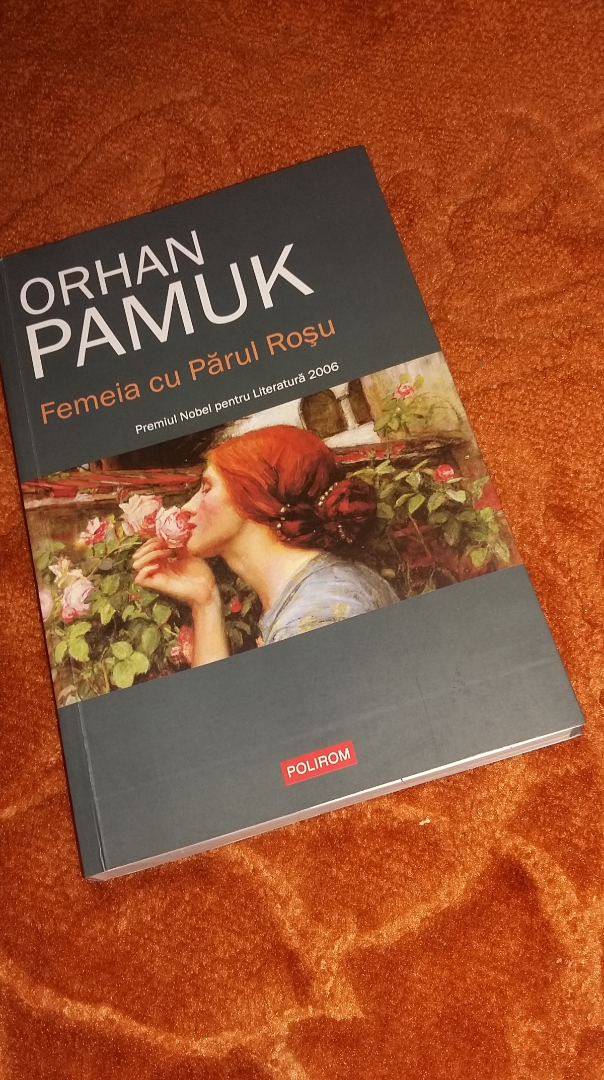 """Orhan Pamuk – """"Femeia cu PărulRoşu"""""""