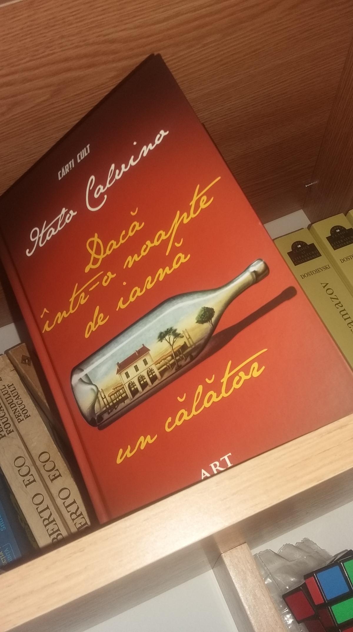 """Italo Calvino – """"Dacă într-o noapte de iarnă uncălător"""""""