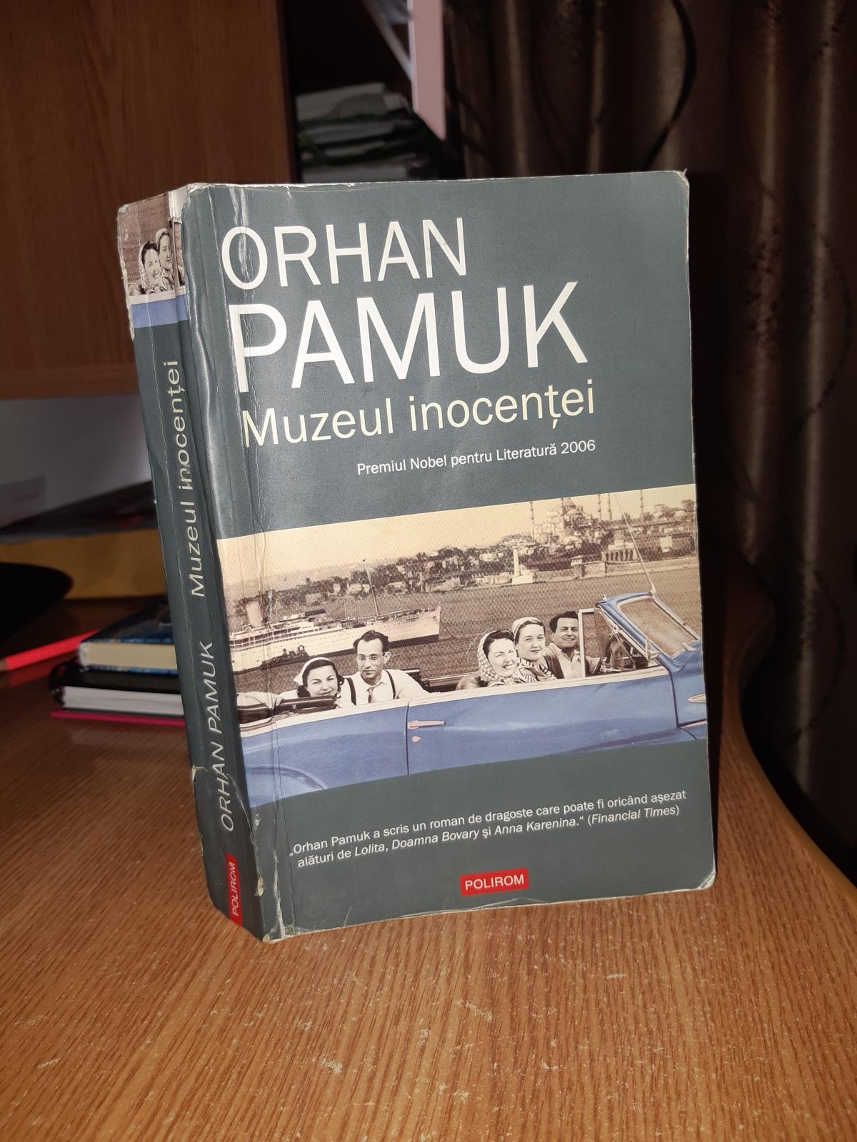 "Orhan Pamuk – ""Muzeul inocenţei"""