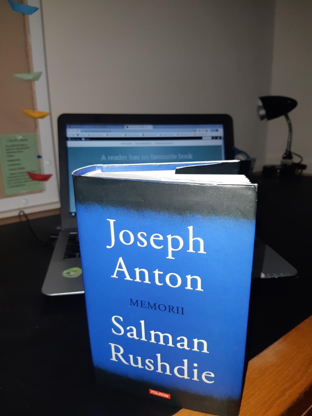 "Salman Rushdie – ""Joseph Anton.Memorii"""