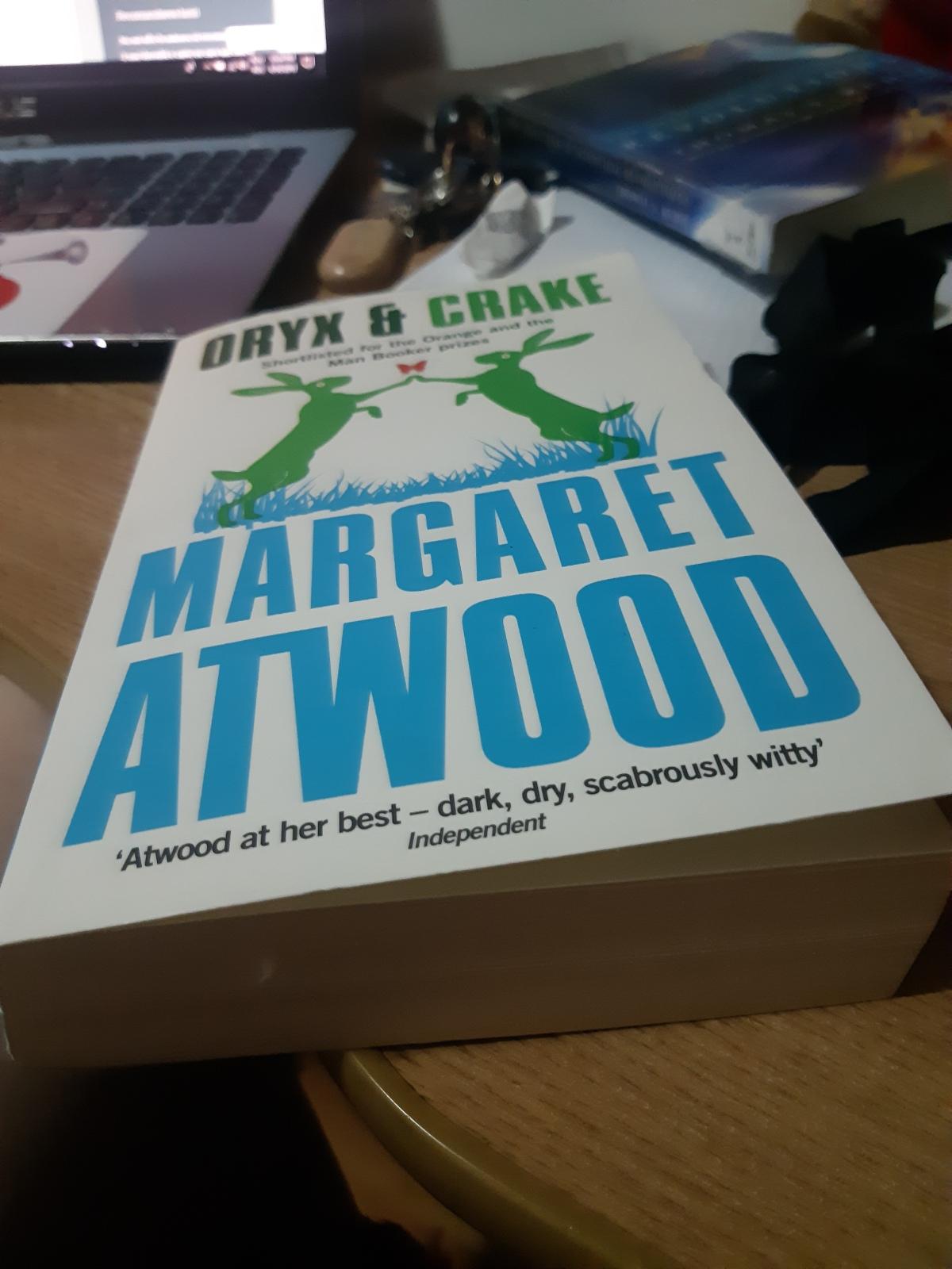 "Margaret Atwood – ""Oryx şiCrake"""
