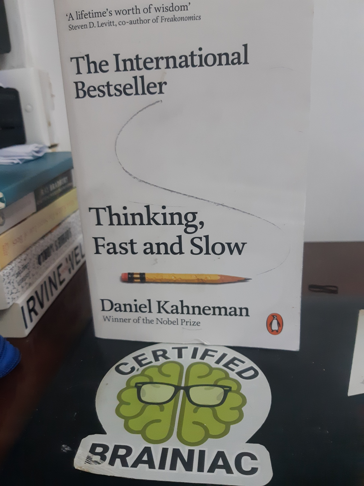 "Daniel Kahneman – ""Thinking, Fast and Slow"""